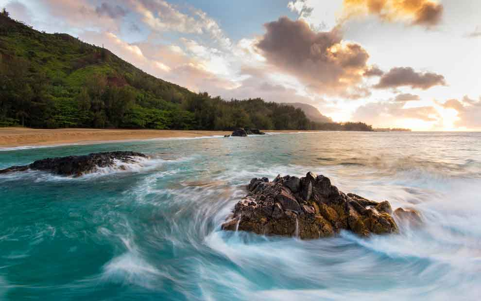 The North Shore in Oahu, Hawaii