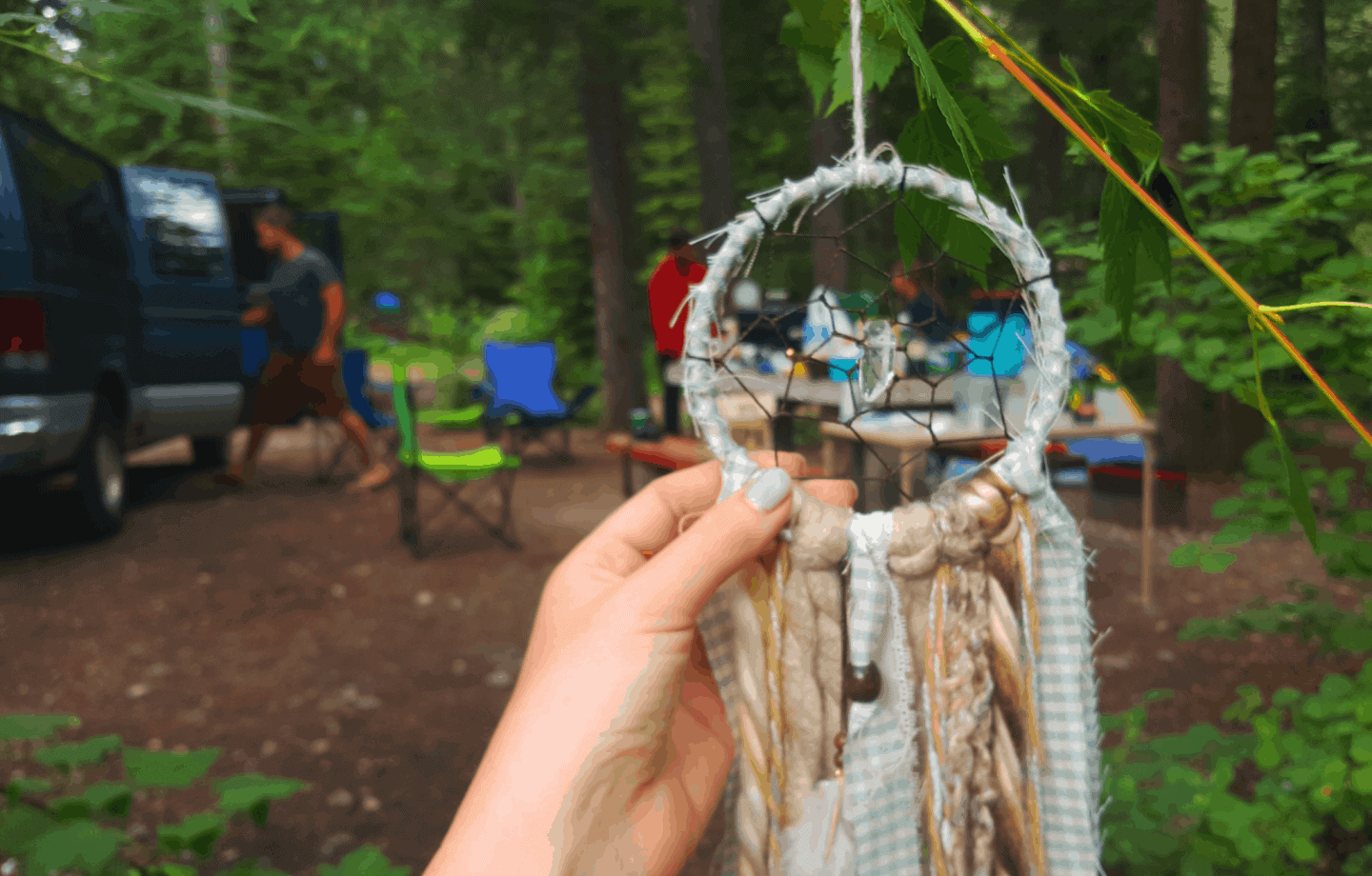 Every person living the vanlife needs a HippBee dreamcatcher in their van