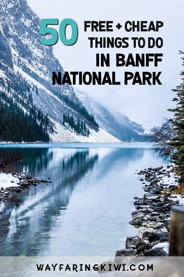 Free things to do in banff national park pin