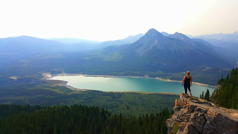 Hiking in Kananaskis Country