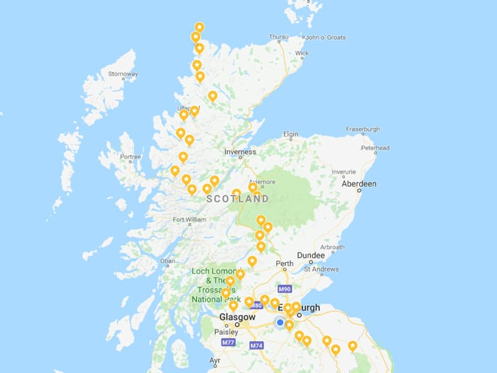 Scottish National Trail Map