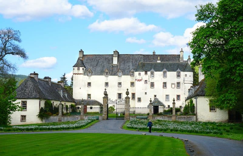 Traquair House on the Scottish National Trail