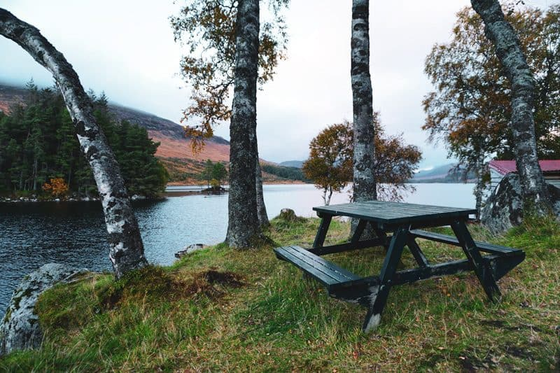Beinn na Lap munro Loch Ossian
