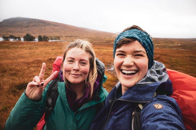 Girls hiking weekend Scotland