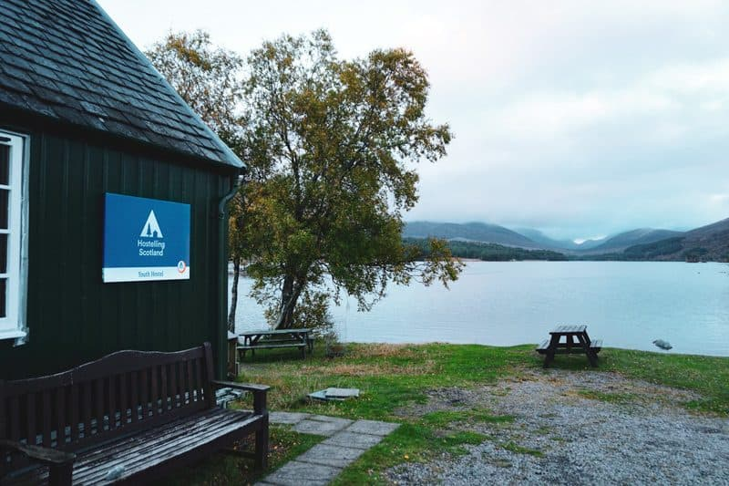 Loch Ossian Hostel