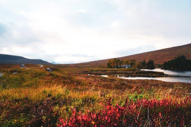 Loch Ossian Hostel Rannoch Moor Corrour