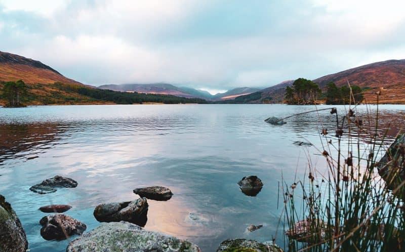 Loch Ossian Rannoch Moor Corrour