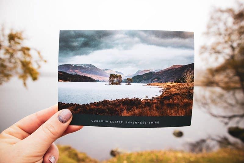 Loch Ossian Corrour Estate