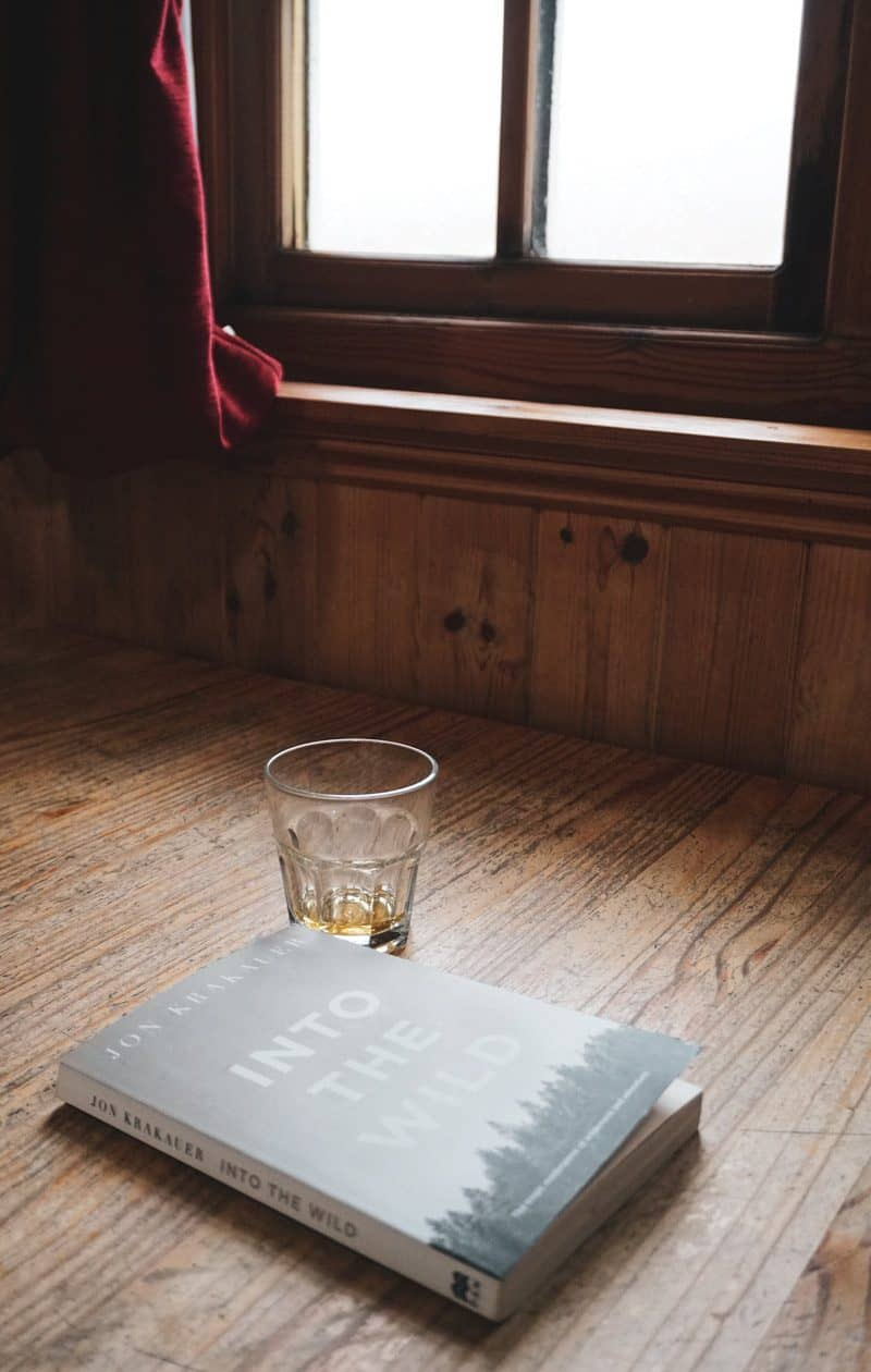 whisky and a book