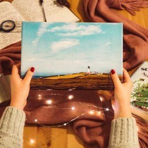 Cape Wrath Lighthouse Canvas print 30x20