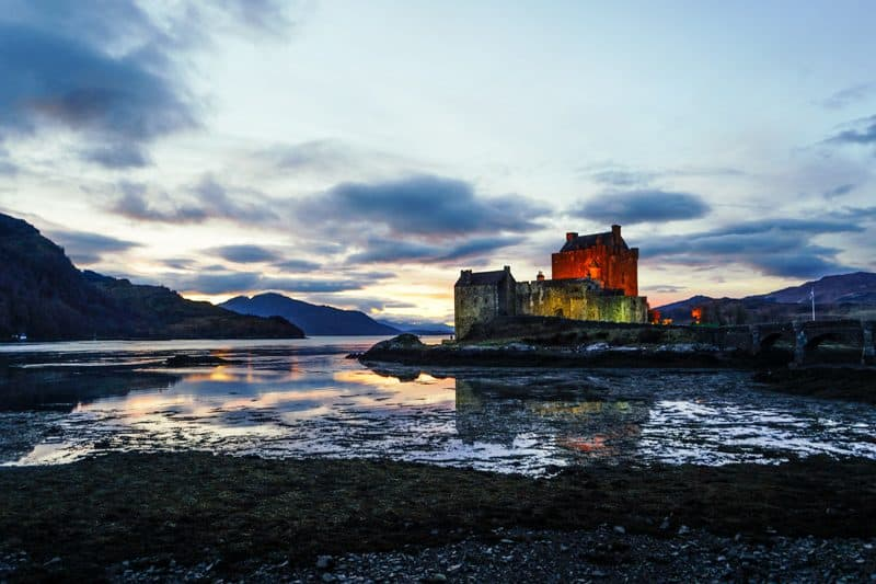 Eilean Donan Castle things to see driving to Isle of Skye
