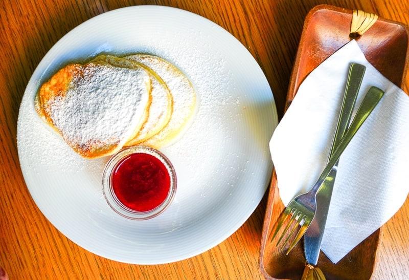 Lookier cafe pancakes, Gdansk, Poland
